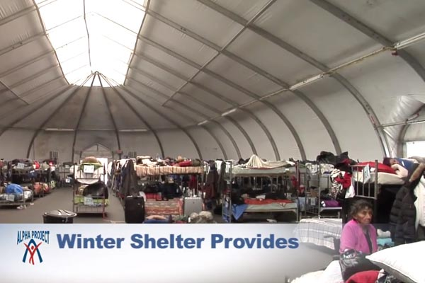 Alpha Project Shelter Commercial